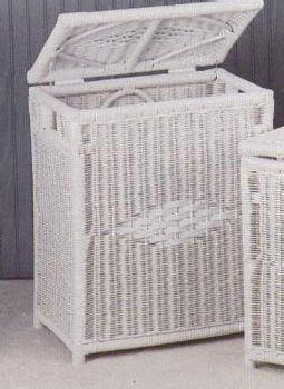 Wicker Laundry Hamper With Lid Diamond Wicker Laundry Hamper In White With Lid And