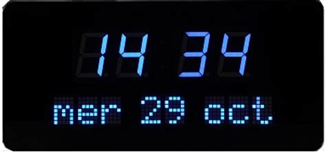 Calendrier Digital Mural Horloge Calendrier Date Heure