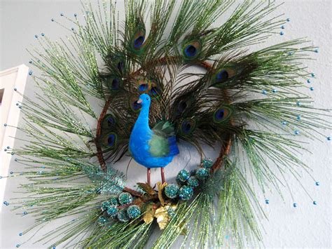 peacock decoration peacock decor