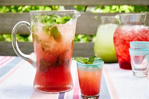 watermelon mint agua fresca recipe epicurious com