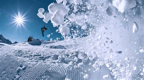 wallpaper snowboarding winter snow  sport
