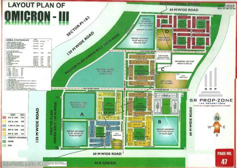 layout plan greater noida layout plan of omicron 3 greater noida hd map
