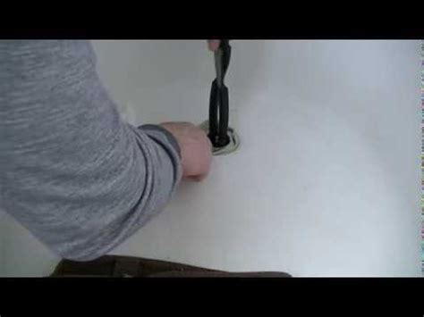 how to remove broken bathtub drain how to change a tub drain spud funnycat tv