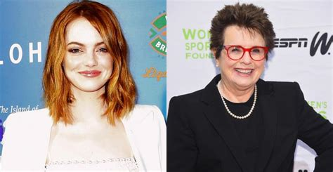emma stone billie jean king emma stone vai interpretar a tenista billie jean king no