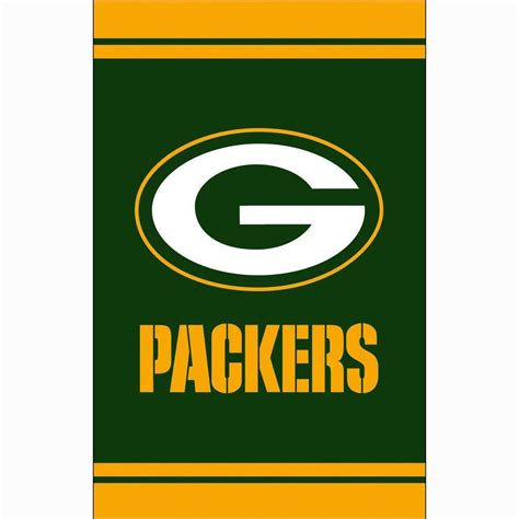 fan essentials 1 ft x 1 1 2 ft green bay packers 2 sided