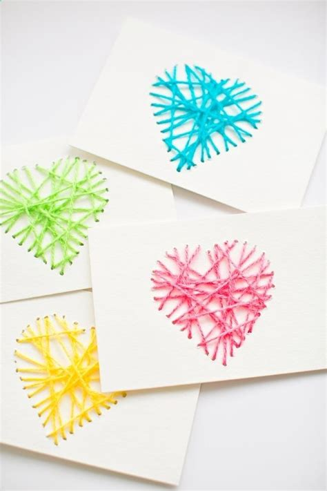 Handmade Valentines - best 25 handmade valentines cards ideas on
