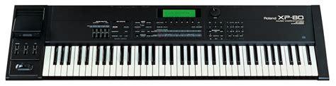 Keyboard Roland Xp 80 roland xp 80 keyboard synth workstation dm audio sound