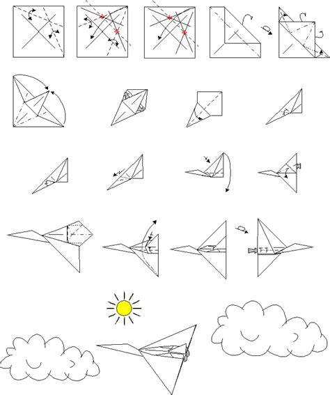 Origami Planes Step By Step - diagrams of flowers diagrams free engine image for user