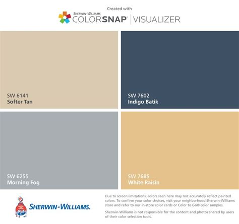 downstairs color plan sherwin williams softer sw 6141 morning fog sw 6255 and white