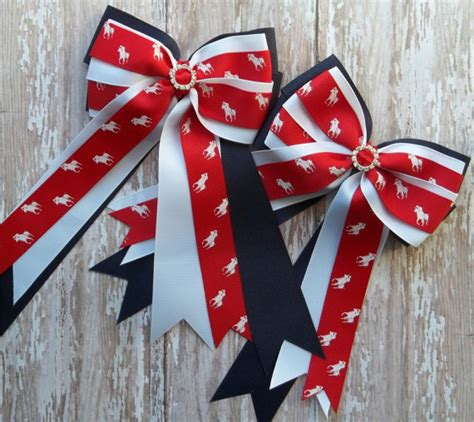 how to make a horse show bow pony kid english horse show hair bows horse by
