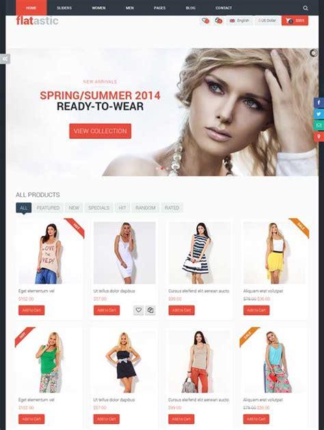 fashion ecommerce templates 50 best ecommerce website templates free premium