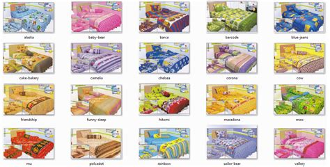Sprei Kintakun Single single bedcover bed cover murah grosir sprei