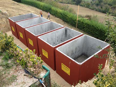 vasca acqua piovana vasche recupero acqua piovana