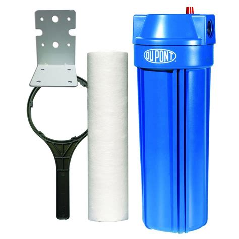 whole house water filtration dupont standard whole house water filtration system wfpf13003b the home depot