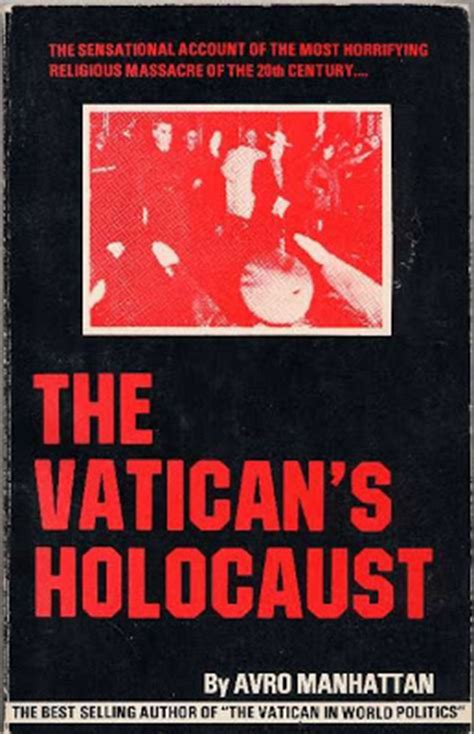 whatsup the vatican s holocaust by avro manhattan
