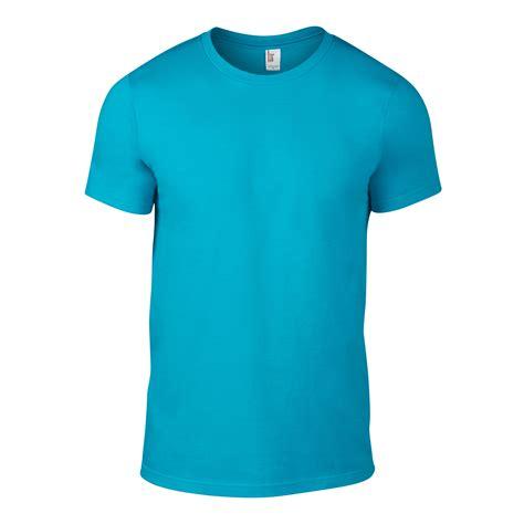 Plain Shirt mens anvil fashion 100 cotton plain sleeve t shirt ebay
