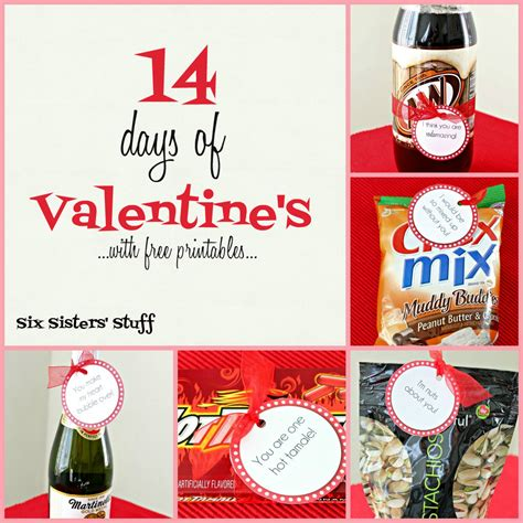 14 days valentines ideas 14 days of s with free printables six