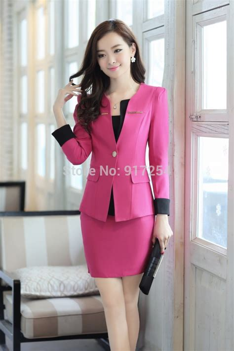 Sale Baju Cewek Blouse Kerja Kuliah Blouse Korea Import Bad92 aliexpress buy new style s fall business suits