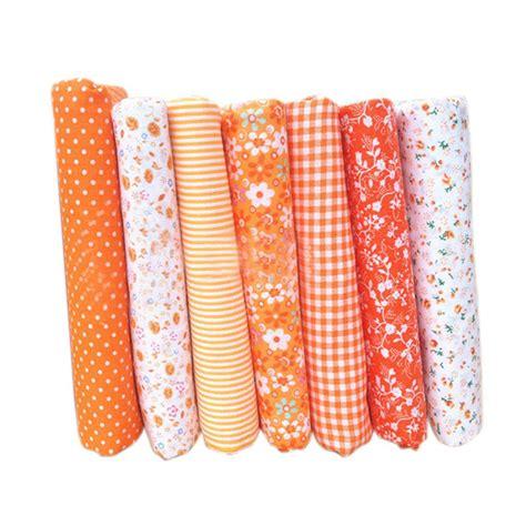 Patchwork Cloth - brand new 7pcs cotton cloth textile craft fabric bundle