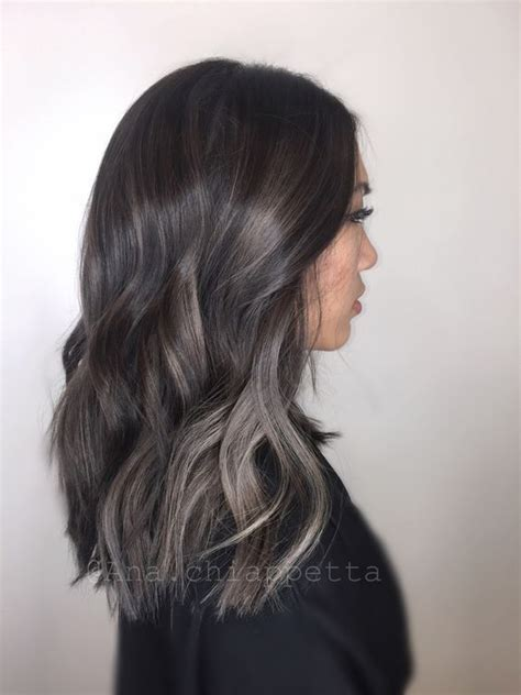 22 sassy purple highlighted hairstyles for short medium balayage highlights for grey hair before and after