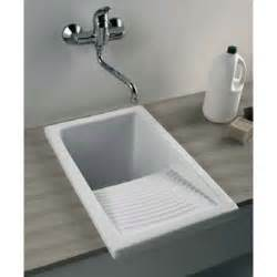 Small laundry sink