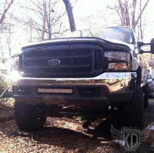 Ford F250 Light Bar Bumper Brackets For 20 Quot Led Light Bar 99 5 04 Ford