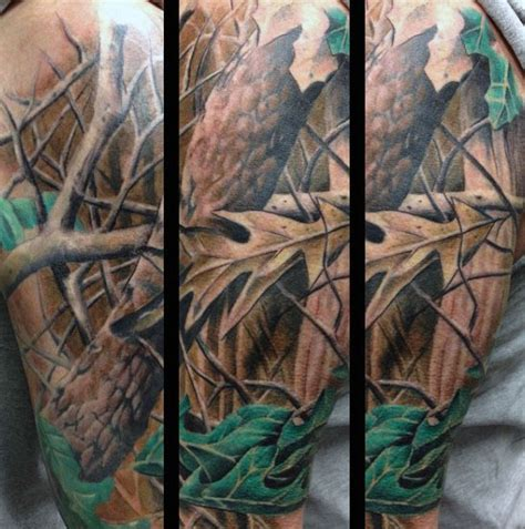 40 camo tattoo designs for men cool camouflage ideas