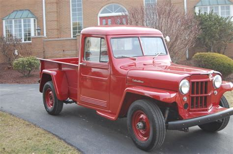 1960 Jeep Truck 1960 Willys Jeep Truck Fully Restored Wow