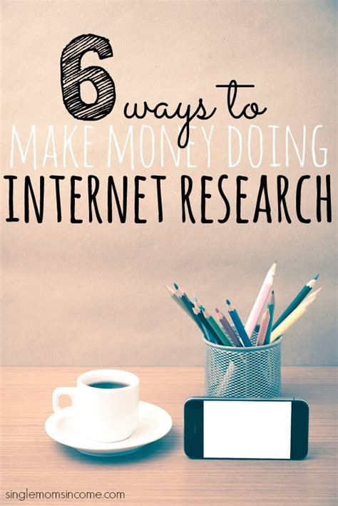 Make Money Doing Research Online - six ways to make more money from your online business