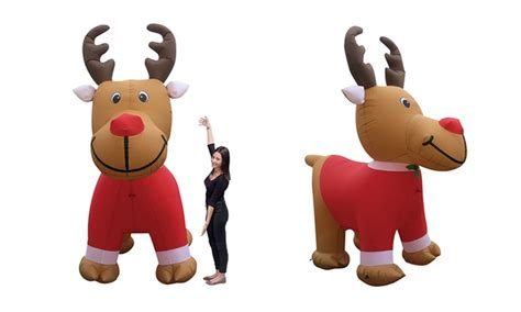 light up christmas packages inflatable light up xmas display groupon goods
