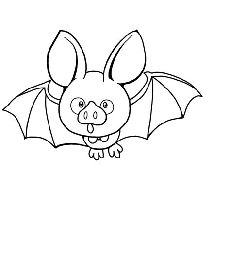 bat coloring page free printable bat coloring pages for animal place