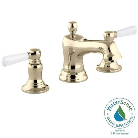 Water Conservation Faucets by Kohler Purist 8 In Widespread 2 Handle Mid Arc Water