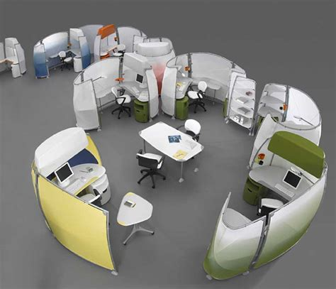 futuristic office desk decocurbs com amazing funny office spaces amazing cubicles with modern style