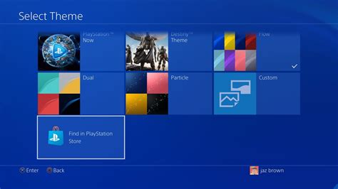 ps4 themes install how to change the theme of your playstation 4 home screen