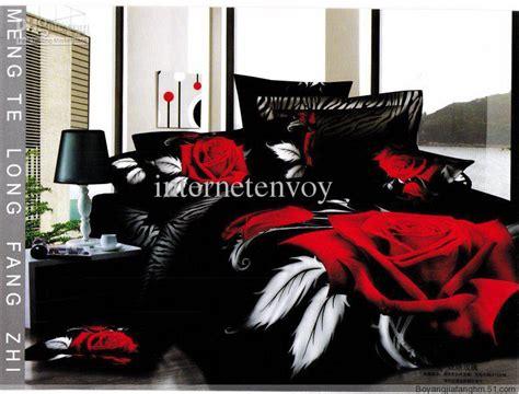 White Coverlet King Sale Bed Set Rose Flower Bedding Home Textile