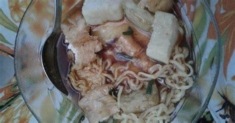 resep mie kopyok enak  sederhana cookpad