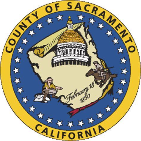 Sacramento County Records File Seal Of Sacramento County California Svg