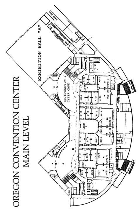 oregon convention center floor plan botany 2000 portland or 6 10 august 2000