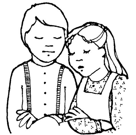 lds coloring pages family prayer pioneer children praying jenny smith s lds ideas bookstore