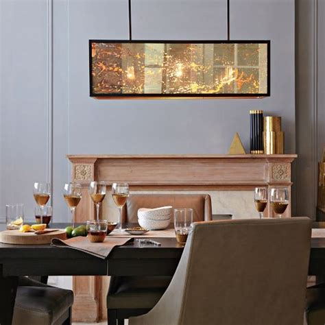Dining Room Lighting West Elm Panorama Chandelier From West Elm West Elm Archives