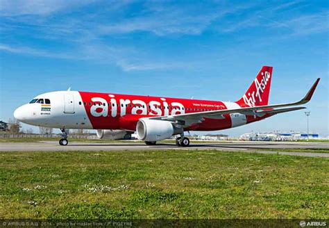 airasia group check in airasia india takes delivery of its first airbus a320