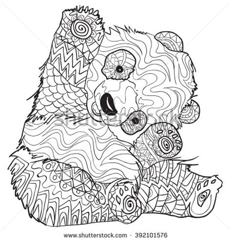 koala adults coloring book stress relief coloring book for grown ups books pin koala coloring on