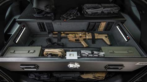 patrol vehicle security gun thefts  gun security