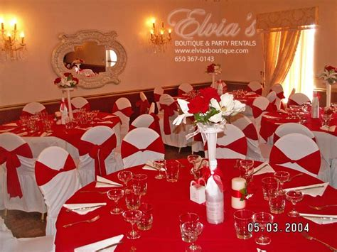 quinceanera themes red halls red eb party rental 187 eb party rental