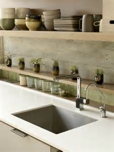 Kitchen Sink Backsplash Ideas by Del Conca Verdiana Bone Thru Body Porcelain Indoor Outdoor
