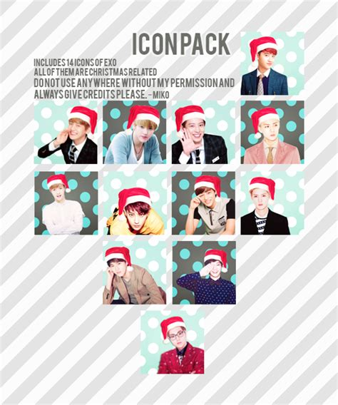 exo christmas wallpaper exo christmas icon pack by shinny001 on deviantart