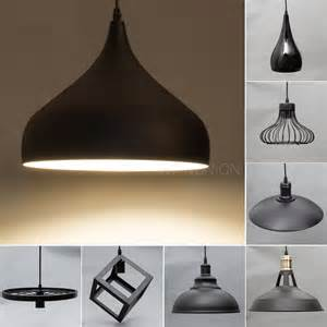 Black 5 Light Chandelier Black Modern Metal Pendant Ceiling Lamp Chandelier Light