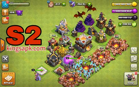 download game coc mod apk offline clash of magic coc private server mod apk v9 434 4