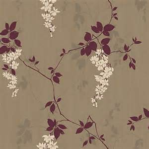 Kitchen Design Homebase arthouse vintage fuchsia wallpaper plum
