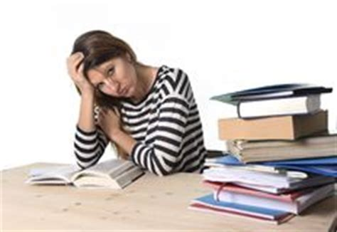 Stress Questions For Mba Students by Stressed Student Studying And Preparing Mba